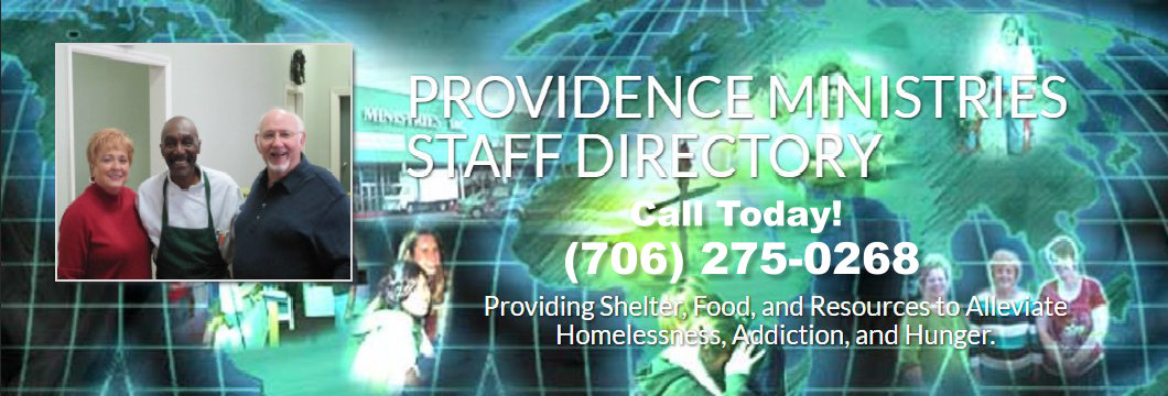 Call 706-275-0268 To Speak with Staff at Providence Ministries, Inc.